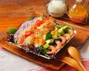 【カジュアルランチプラン¥2000税抜】前菜からデザートまで、お好きなメインが選べる!カフェ付きプラン