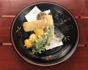 【お昼限定】 『精進会席料理』 10,000円(税抜)