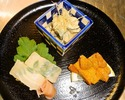 [Lunch only] Higashiyama Light course 5,000JPY (Limited to 3 groups a day)