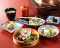 [Lunch only] Higashiyama Light course 8,800JPY (Limited to 2 groups a day)