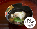 [Lunch only]Halal Kaiseki Course 13,200JPY