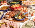 【Official online exclusive weekday lunch buffet with one drink】