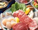 <<Web予約限定価格!!>>【ランチ】【黒毛和牛&海鮮】6480円⇒6156円