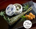 Halal Kaiseki Course 16,500JPY