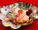 Kyoto-style Kaiseki ''Ukifune'' 40,000JPY (Over 10 People)