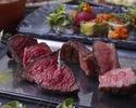 【1.2月Aプラン】『国産銘柄牛の食べ比べ×デザートビュッフェ』プレミアムプラン
