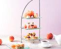 Seasonal Afternoon tea set ~ PEACH AFTERNOON TEA ~