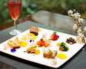 【Special Lunch for Ladies】9 kinds of Appetizers & Lunch Set with a glass of Sparkling wine, Salad buffet, Dessert