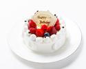 生デコレーションケーキ 4号
