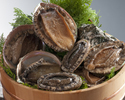3 Persons or More – Basic Course plus Abalone A wonderful opportunity to taste Shima Cuisine caught by Ama, women, Divers.