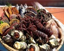 Limited to March-April (for 3 persons or more) - Luxurious Course Menu with Ise-ebi Spiny Lobster AND Abalone
