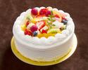 フルーツのショートケーキ・・・15cm(5~6名様)