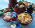 【Yugyoan Tankumakita Store】 chirashi-sushiLunch
