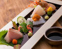 [Inexpensive taste course] Sashimi, skewer grilled, nine dishes of seasonal fish including tax ¥ 8000 yen