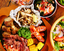 【肉食男子女子必見☆】肉盛りBBQコース(3時間飲み放題付) ※金土祝前日は2時間