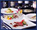 【ディナー・2時間飲み放題付き】ワイン好きのお客様への接待にもおすすめの飲み放題と・2種のパスタ・メイン・デザートなどを含む6品ディナープラン