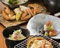 A. Live Hairy Crab course A