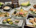 料理長厳選 「三つ葉」(鯛茶漬け)5,500円(お料理のみ)