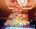 〈金・土・祝前〉シャンパンタワー付き 肉極みアニバーサリーコース アルコール含む飲み放題