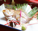 [Single item] Grilled whole Red snapper