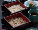 [Lunch] Two-color buckwheat noodles