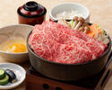 黒毛和牛すき焼膳(デザート付)