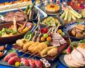 【Special online deal】 Okinawan & International Buffet Senior (65 years and up)
