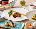 Japanese-Western course dinner