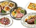 Cコース お料理5種&飲み放題(2時間制)