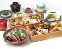 平日お昼×個室!旬菜11種盛合せ・鰹たたき等 全7品17種【かんざし御膳】