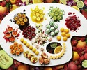 ● (Aug 11, Sep 15, Sep 22)  Colorfruits Dessert Buffet (65 years old and over)  @4300 Yen(Regular Price)