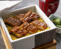"""""""July and  August"""" Seasonal Limited Lunch[Eel steamed]"""
