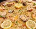 【7月限定】真鯛とレモンのパエリアコース