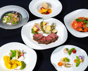 【7・8月特別コース】 黒毛和牛のビステッカと三浦産有機野菜のコース(3時間)