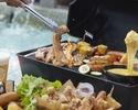 【ディナー】チーズ好きに!『チェゴチキン×サムギョプサル』BBQプラン (飲み放題付き)¥4000