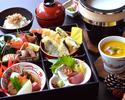 【個室】季節の松花堂弁当 3,080円(税サ込)