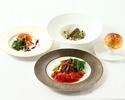 【Rikyu Dinner 】四季折々の彩を表現した全6品フレンチフルコース