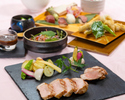 """Japanese-style Kaiseki course """"Watsuki (Wagetsu)"""" all six dishes (2 hours all-you-can-drink plan)"""