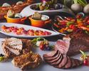 土日とくとく♪♪ディナーブッフェ 2部【19:15~21:15】アンガスビーフステーキも食べ放題!!4800円 日にち限定の割引プランです♪