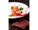 Steak & Seafood Lunch(黒毛和牛)80g