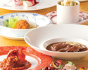 季節の食材使用 全7品ランチコース¥9,680