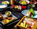 ≪個室確約≫ 茨城県産美明豚のせいろ会席8品6600円(税込)