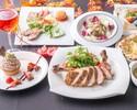 《ディナー》【秋の味覚】乾杯酒付き♪秋刀魚を使用したカルトッチョにトマホークの魚&肉のダブルメイン!全11品!!