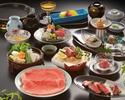 すき焼 牛肉三昧コース(特上)15,950円