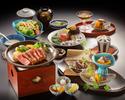 Nihonbashi Ameyaki Steak Course High Quality Beefl Sirloin 150g