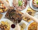 【CASUAL PLAN】選べるPIZZAで大満足!季節の前菜たっぷり!カジ  ュアルにPARTYならこちら!当サイト予約限定特典。飲み放題90分が120分!