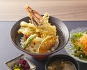 Prawn & Conger Eel Tempura Rice Bowl