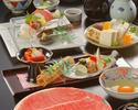 すき焼 蒼コース(極上牛)¥15400