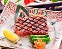 網焼ステーキ 星コース(極上)¥25850