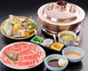 SHABU SHABU - TSUKI course (with High Quality Beef)